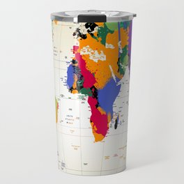 map Travel Mug
