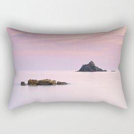 San Cristobal Reefs At Sunset . Rectangular Pillow