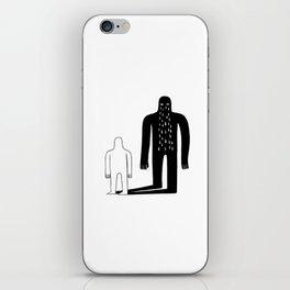 Shadow iPhone Skin