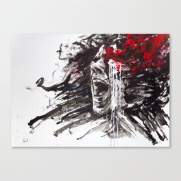 The Pain of Cluster Headache Canvas Print