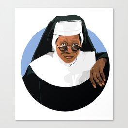 SISTER ACT Canvas Print