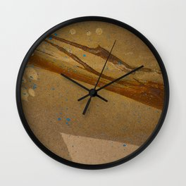 joelarmstrong_rust&gold_073 Wall Clock