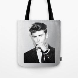 Zac Efron Tote Bag