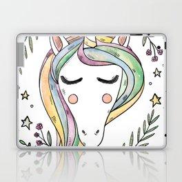 Cute Unicorn Laptop & iPad Skin