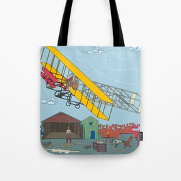 First Flight 1903 Tote Bag