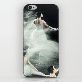 Ghost Dance, Vintage Ballet iPhone Skin