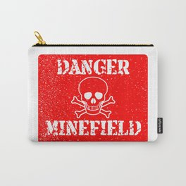 Danger Minefield Carry-All Pouch