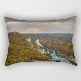 Holy Mountains Monastery (Ukraine) Rectangular Pillow