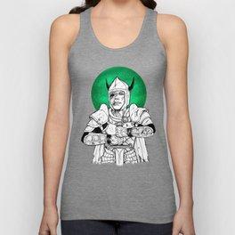 Clovis, the Undead Warrior Queen of Green Falls Tomb Unisex Tank Top