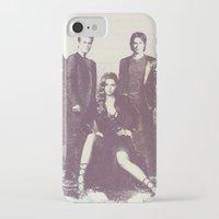 the vampire diaries iPhone & iPod Cases featuring The Vampire Diaries TV Series by Nechifor Ionut