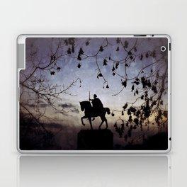 King Tomislav statue Laptop & iPad Skin
