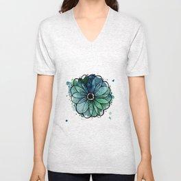 waterflower Unisex V-Neck