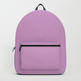 orchid color coordinate solid Backpack