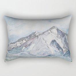 Spring  on Mount Sopris Rectangular Pillow