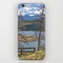 Sailboat in Lake Dillon iPhone Skin
