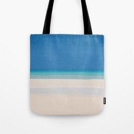 Dreamt Tropical Beach Design Tote Bag