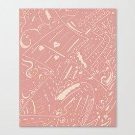 Skin texture Canvas Print