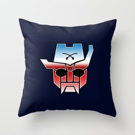 Rough Rider in Disguise Throw Pillow
