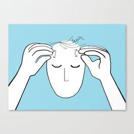 ASL Teach Canvas Print