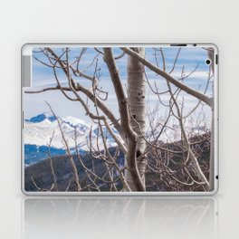 Mountains Through the Trees Laptop & iPad Skin