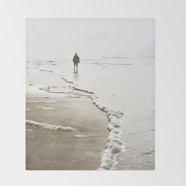 Dreamy Beach Throw Blanket
