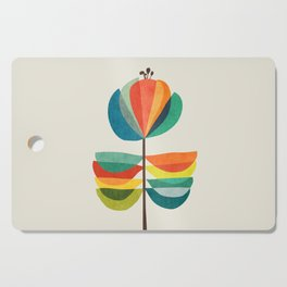 Whimsical Bloom Cutting Board