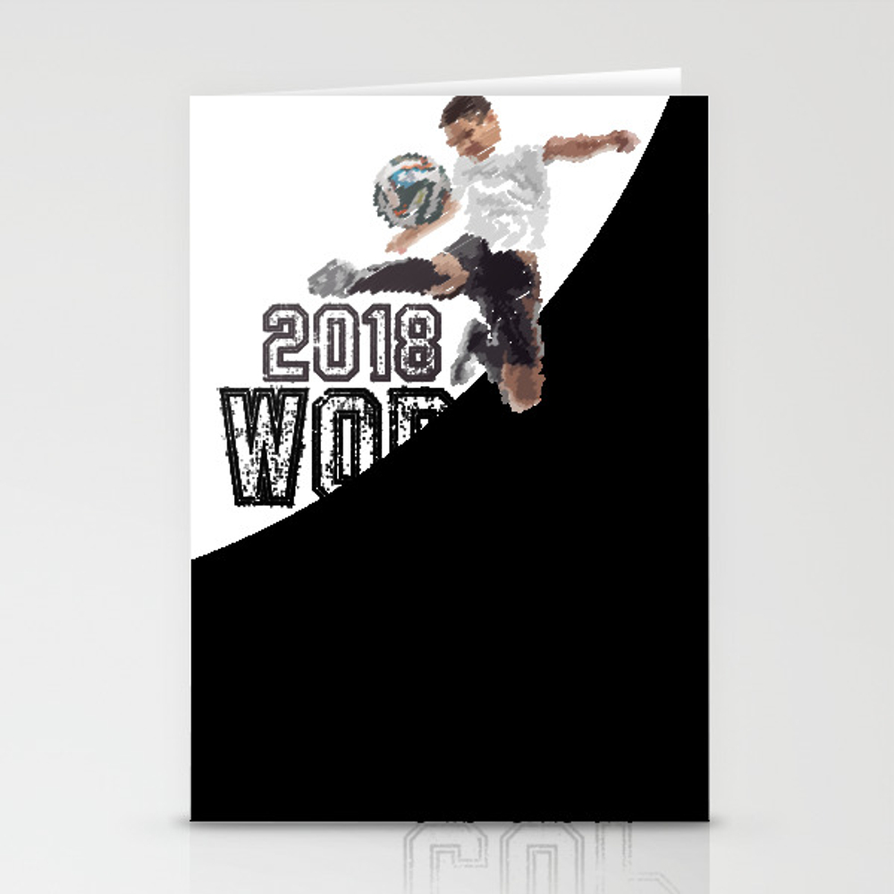 World Cup Stationery Cards by Naumovski CRD8685553