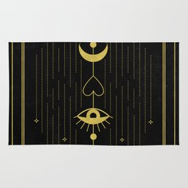 Le Pendu or The Hanged Man Tarot Rug