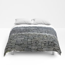 Dry stone wall Comforters
