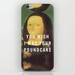 Cake by the Pound iPhone Skin