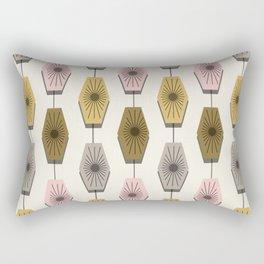Mid Century Modern Pattern Rectangular Pillow