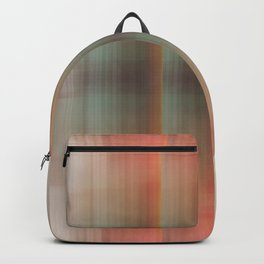 Abstract pattern pink and grey Backpack