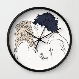 Bellarke [bellamy+clarke] Wall Clock
