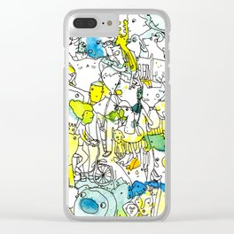 Character Cohesion Clear iPhone Case