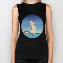 Lilly kitten Biker Tank