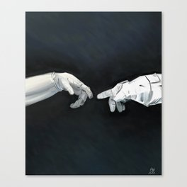 Cosmic Touch Canvas Print