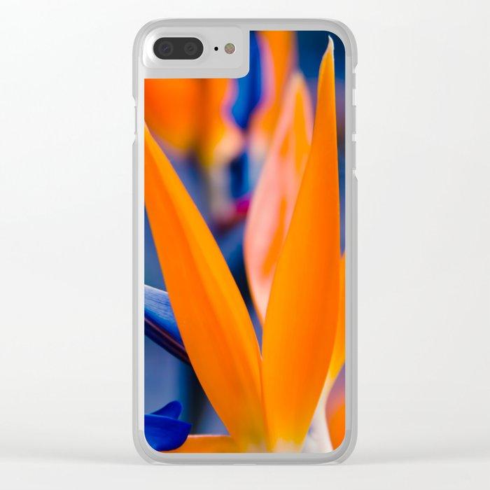 Gods Garden Clear iPhone Case