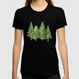 Christmas Pine Trees T-shirt