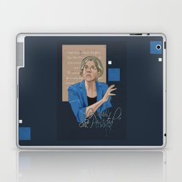 """Nevertheless, She Persisted"" Laptop & iPad Skin"