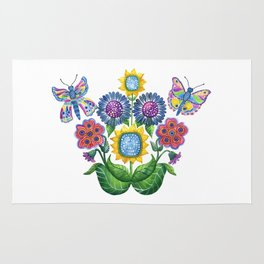Butterfly Playground Rug