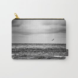 Stormy Beach Carry-All Pouch