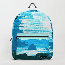 oregon beach Backpack