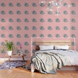Pop Art Pets! - Chirpy Abyssinian Grey Guinea Pig Wallpaper