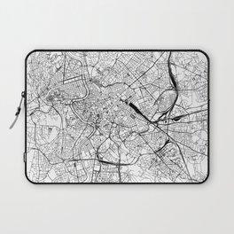 Rome White Map Laptop Sleeve