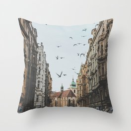 Prague, Czechia VI Throw Pillow