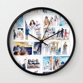 Ruddigore - At The Opera Wall Clock