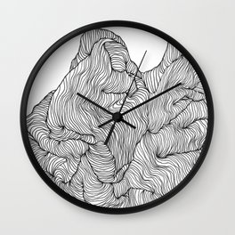 Crevice Wall Clock