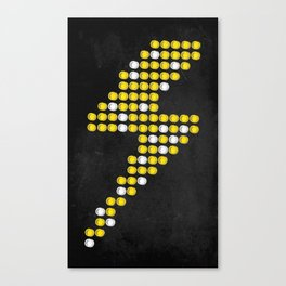 Lite Bolt Canvas Print