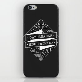 daydreamer nighthinker iPhone Skin