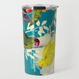 Tropical birds in the nature - 010 Travel Mug